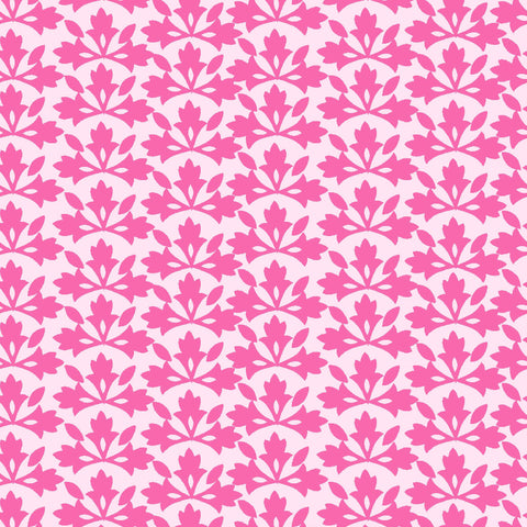BUNGALOW-BLOSSOM BLOCK PRINT CX9506-PINK