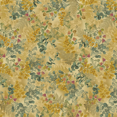 MAGNOLIA-LAYERED FERNS CX9520-GOLD
