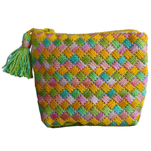 Free Project - Criss Cross Pouch