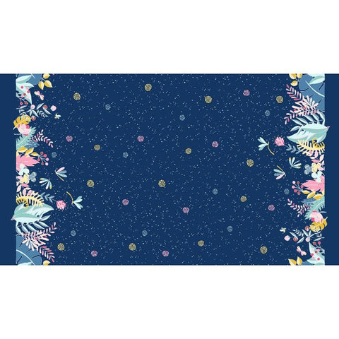 Night Garden by Tamara Kate Moonlit Border Celestial-DC8332-CELS-D