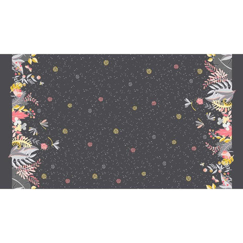 Night Garden by Tamara Kate Moonlit Border Midnite-DC8332-MIDN-D