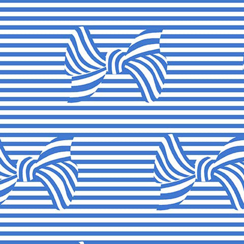 AT THE SEASHORE - BOWS AND STRIPES - DC8414-SAILOR