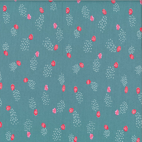 SEA DREAMS - DC8481 - FISH BUBBLES - SAGE