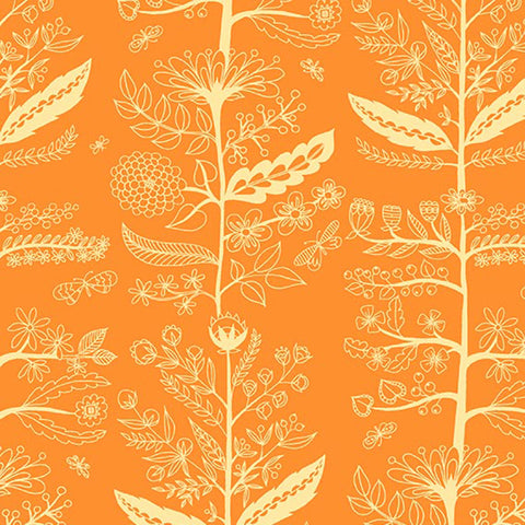 DELIGHT - CHARMED ON HIGH DENSITY COTTON - DC8675-ORANGE