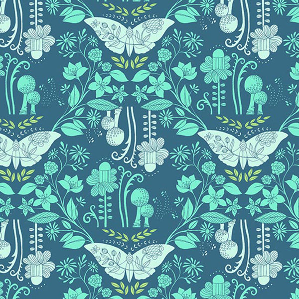 DELIGHT - DAYDREAMING ON HIGH DENSITY COTTON - DC8680-OCEAN