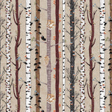 THE MUSHROOM FAN CLUB - TREE STRIPES DC8844-KHAKI
