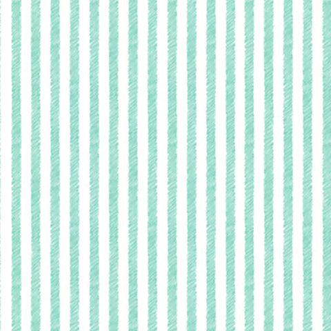 HONEY BUNNY - PALETTE STRIPE - DC9089-AQUA