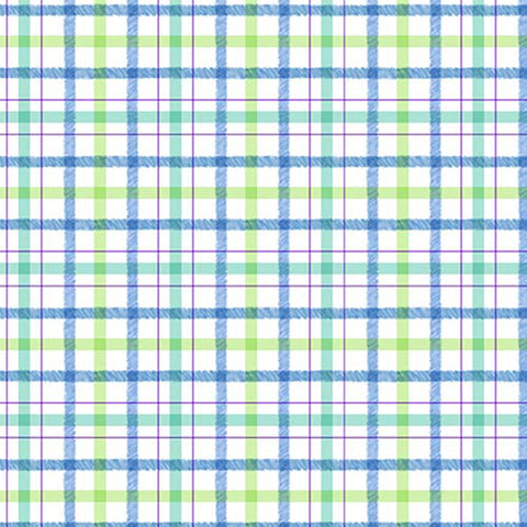 HONEY BUNNY - PLAID PLAY - DC9093-BLUE