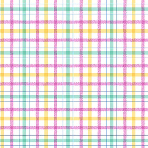 HONEY BUNNY - PLAID PLAY - DC9093-PINK