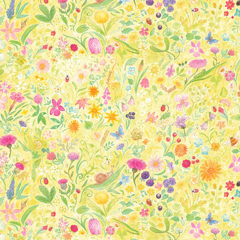 HONEY BUNNY - GARDEN WHIMSY - DC9099-YELLOW