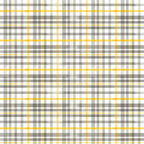 QUEEN BEE - BEEHIVE PLAID - DC9154-GRAY