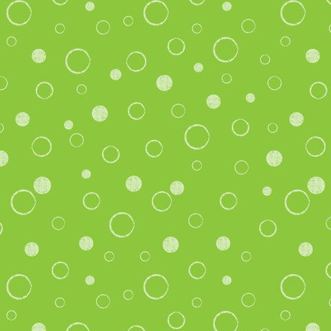 UNDER THE SEA SEA BUBBLES-DC9564-LIME
