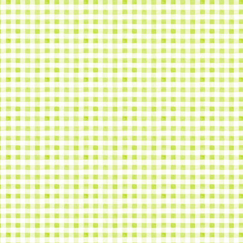 PICNIC BY THE LAKE -SUMMER GINGHAM DC9840-GREEN