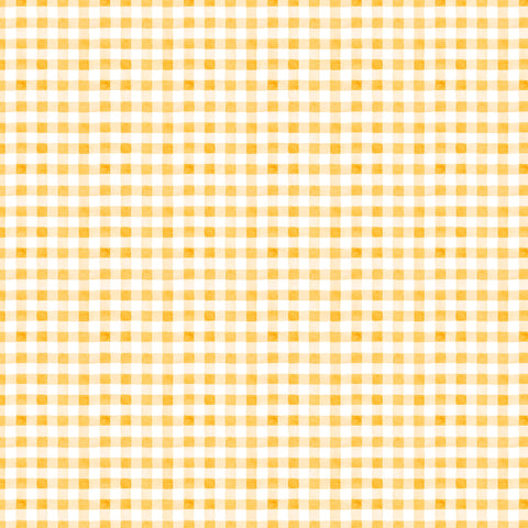 PICNIC BY THE LAKE -SUMMER GINGHAM DC9840-YELLOW