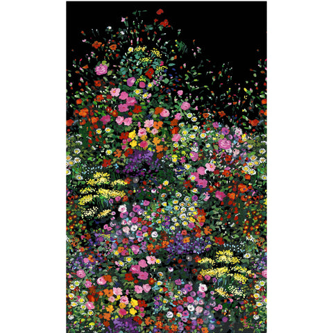EAT SLEEP GARDEN - BOWERS OF FLOWERS - DCX9059-BLACK