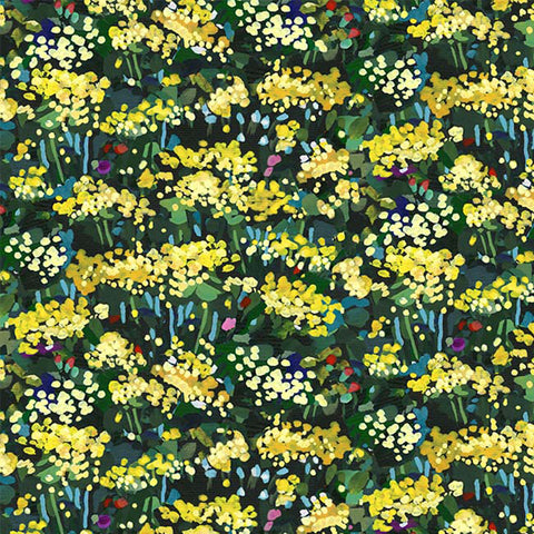 EAT SLEEP GARDEN - YELLOW BLOSSOMS - DCX9060-YELLOW