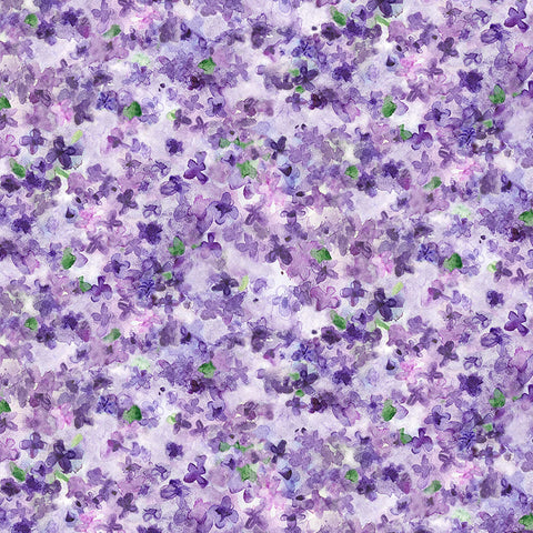 DREAMING OF TUSCANY - PACKED PETALS - DCX9265-PURPLE