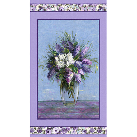 DREAMING OF TUSCANY - BLOOMING VASE - DCX9269-PURPLE