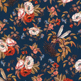 ELDERBERRY - DDC8060 - ELDERBERRY FLOWER FAIRIES - NAVY