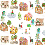 SWEET HOLIDAY - GINGERBREAD DREAM - DDC8913-MULTI