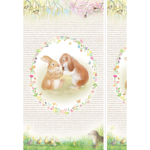 HONEY BUNNY - BUNDLE OF JOY - DDC9097-WHITE
