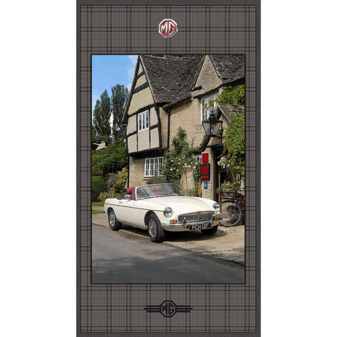MG BRITISH MOTOR CARS - MG PANEL - DDC9148-TAUPE
