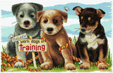 Work Dogs in Training FJ-1080