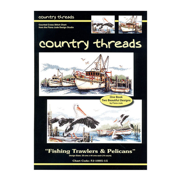 FJP-1005/15 Fishing Trawlers & Pelicans Combo Publication