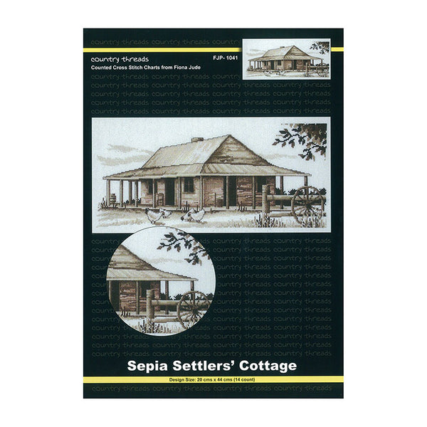 FJP-1041 Sepia Settlers Cottage Publication