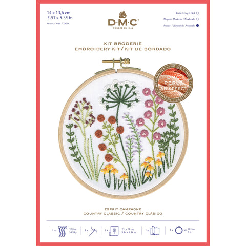 TB151 DMC COUNTRY CLASSIC EMBROIDERY KIT