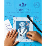 C301K - DMC I CAN STITCH-POLO THE BADGER