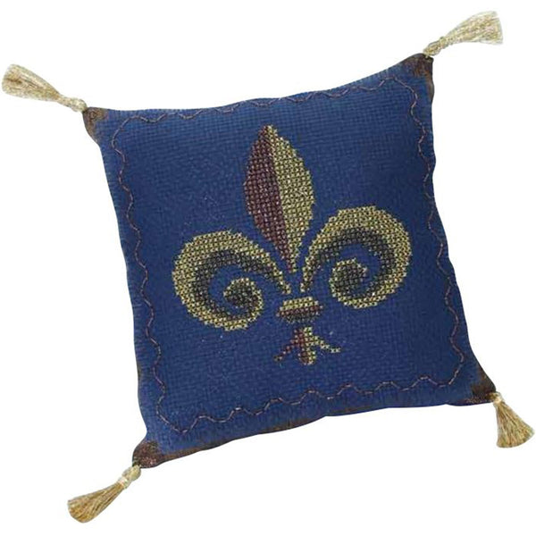 Free Project - Fleur De Lis Cushion