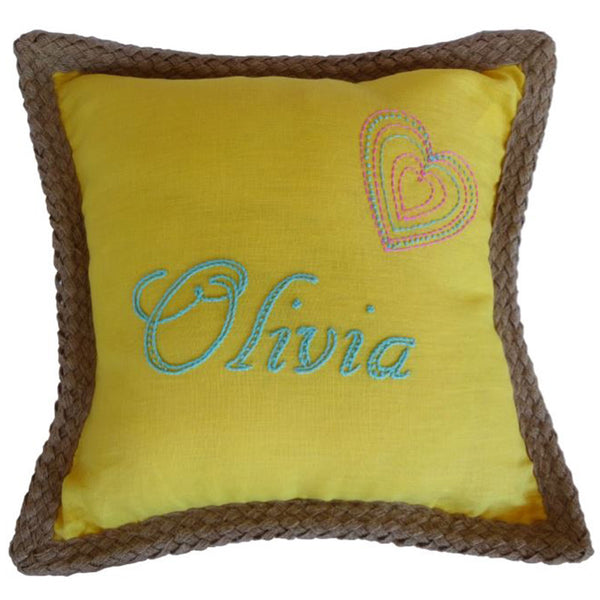 Free Project - Girl's Cushion