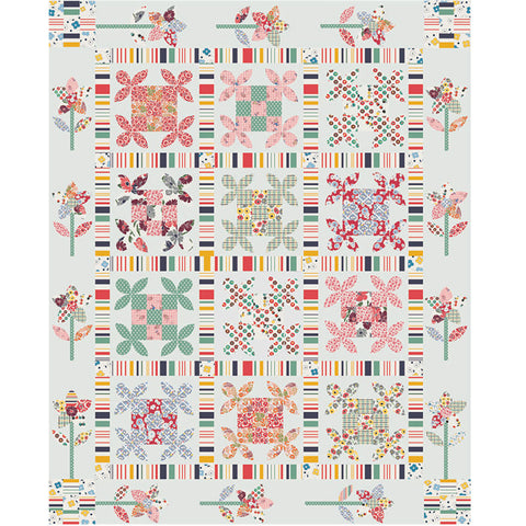 Free Project - Betty's Pantry - Honey Jumble Quilt