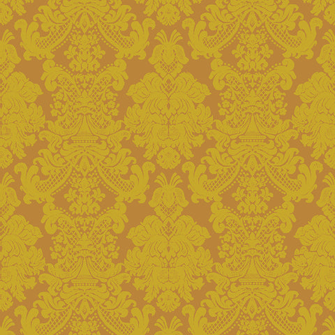 FB - Textures - Imperial Brocade - Yellow L01501-1