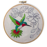 Free Project - Hummingbird Embroidery
