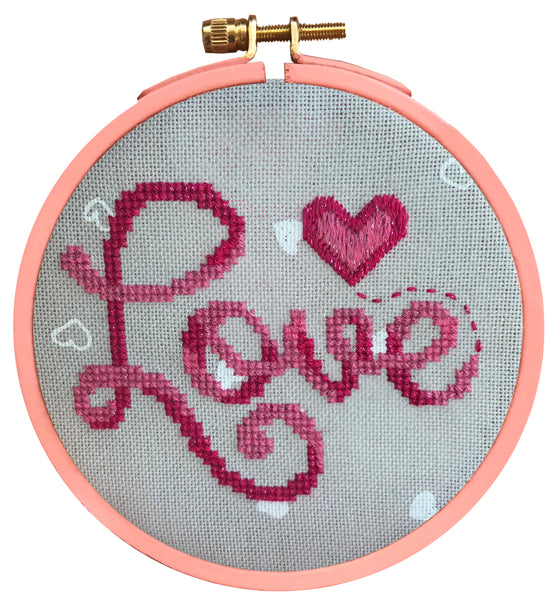 Free Project -  Love Cross stitch