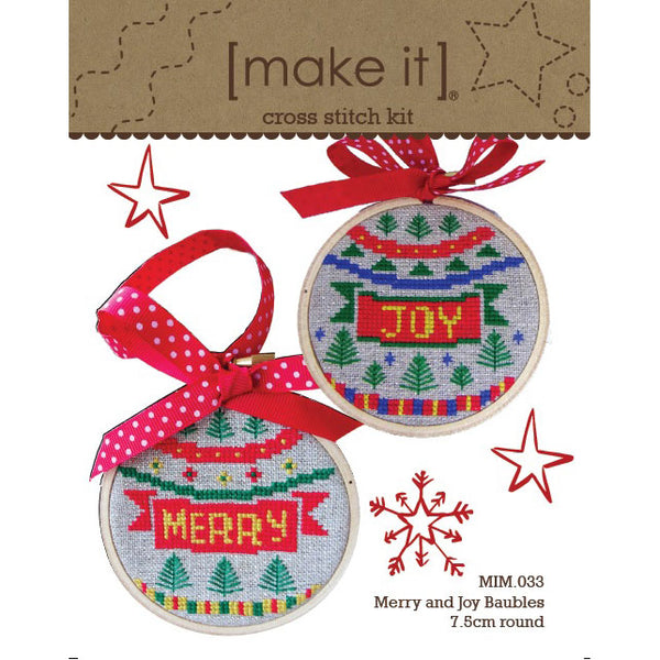MIM.033 Merry & Joy Bauble