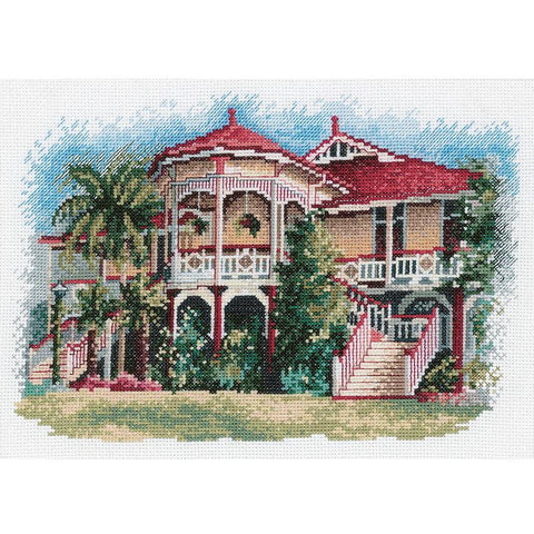 Queensland  Mansion on Wooden Stilt  OG009