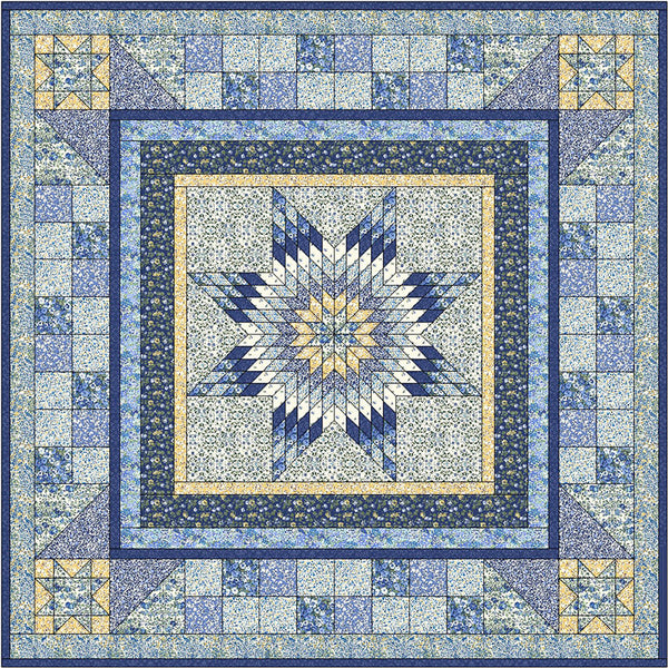 Free Project - Liberty Orchard Garden- Orchard Star Quilt