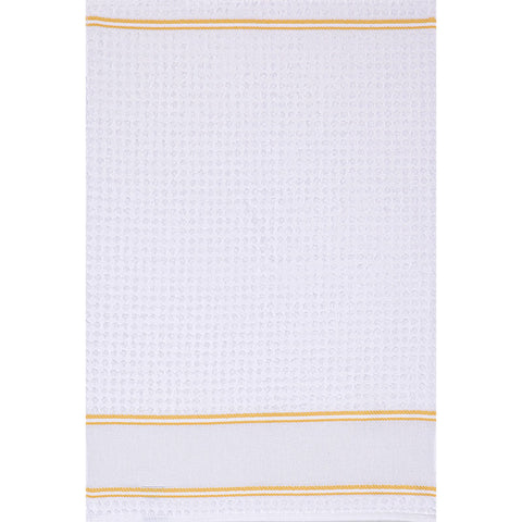 Q103 Kitchen Towel - Yellow Trim - Clearance