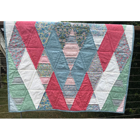 Free Project -  Liberty - Diamond Quilt