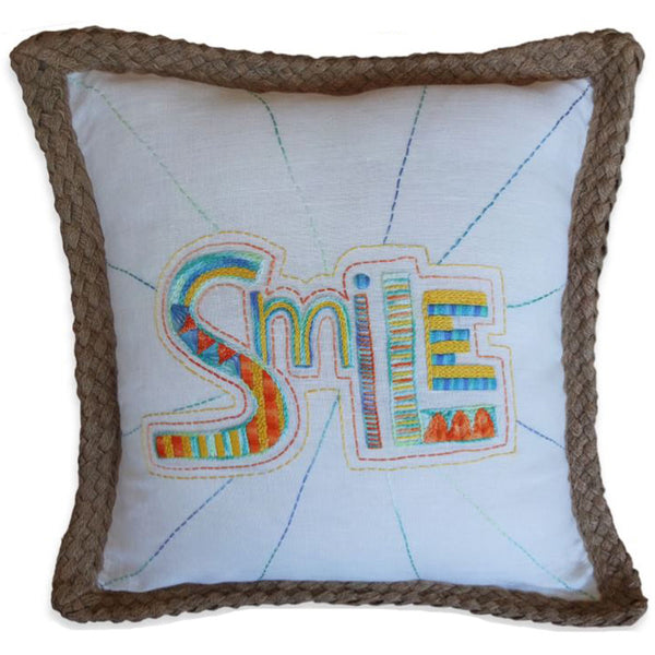 Free Project - 'Smile' Cushion