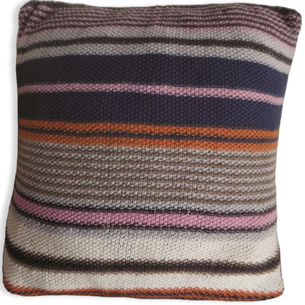 Free Project - Stripy Cushion