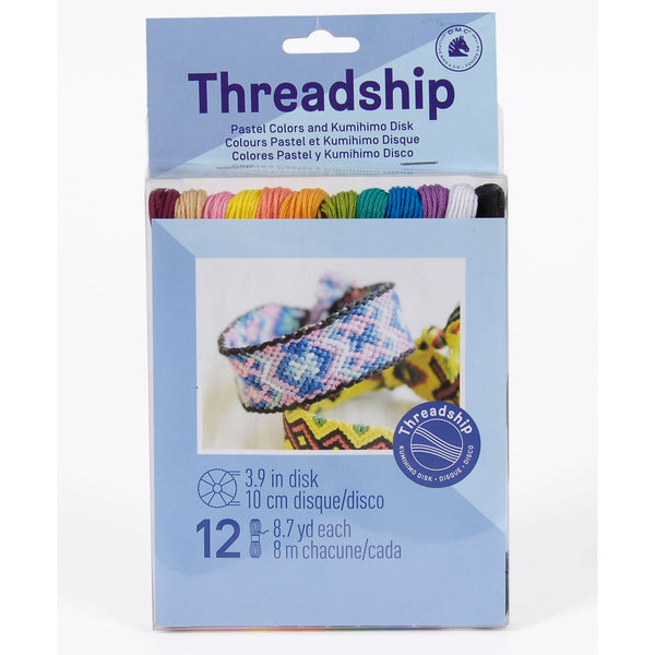 DMC THREADSHIP - 12 SKEIN PACK - 119115-PASTEL