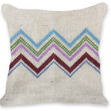 Free Project - Zig Zag Cushion