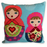 Free Project - Babushkas Cushion