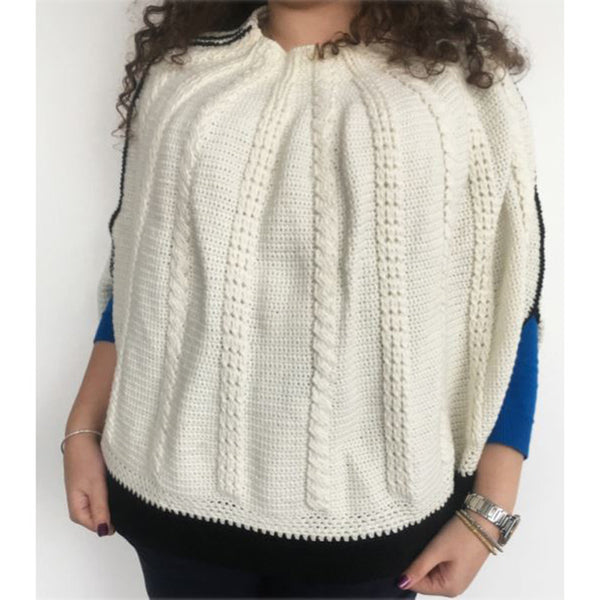 Free Project - Cable Poncho