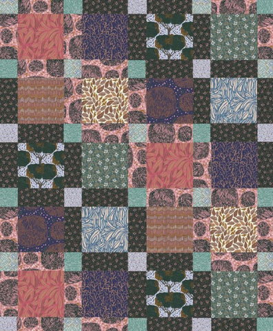 Free Project - Canopy Patchwork Quilt, Day Dreaming