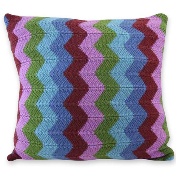 Free Project - Chevron Cushion